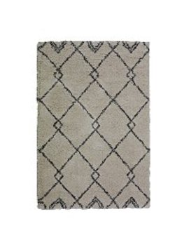 Berber Shaggy Rug by Asda