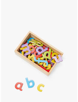 John Lewis & Partners Wooden Magnetic Letters by John Lewis & Partners