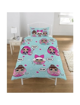 L.O.L. Surprise! Kids Duvet Set   Glam Rock by B&M