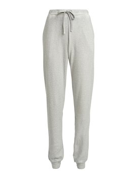 High Rise Cotton Cashmere Joggers by Majestic Filatures