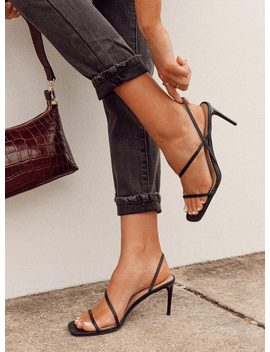 Billini Montague Heels Black by Billini