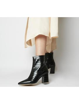 Allure Pointed Block Heel Boots by Office