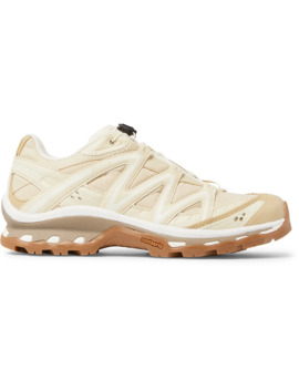 Xt Quest Adv Mesh, Faux Leather, Ripstop And Rubber Running Sneakers by Salomon