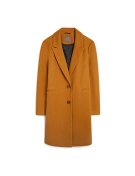 Camel Crombie Coat by Primark