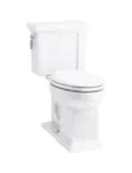 Kohler Tresham White Elongated Comfort Height 2 Piece Toilet 12 In Rough In Size by Lowe's