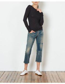 6397 Shrunken Crewneck Sweater   Charcoal by Garmentory