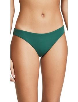 Pique Annia Bikini Bottoms by Eberjey