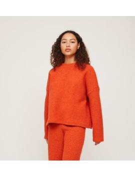Rita Row Textured Sweatshirt by Garmentory