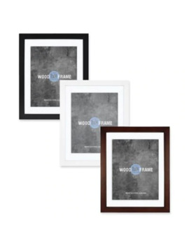 Gallery Wood 11 Inch X 14 Inch Float Picture Frame In Espresso by Bed Bath And Beyond