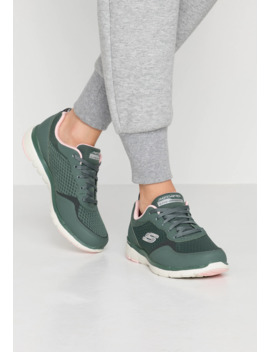 Wide Fit Flex Appeal 3.0   Sneakers Laag   Olive/Pink by Skechers Wide Fit