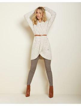 C&G Burgundy Mini Check City Legging Pant   31.5'' by Rw & Co