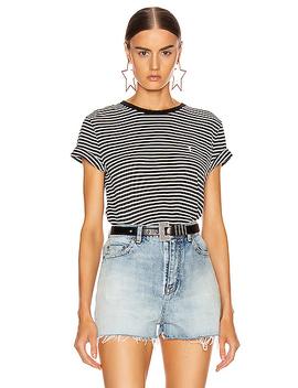 Striped T Shirt by Saint Laurent