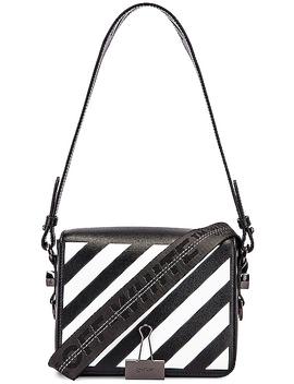 Diagonal Flap Bag by Off White