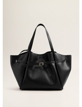 Borsa Shopper Follata by Mango