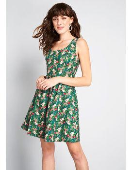 Good Enough To Strut A Line Dress by Retrolicious