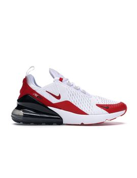 Air Max 270 White Anthracite University Red by Stock X