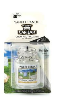 Yankee Candle Classic   Car Jar® Ultimate Clean Cotton® by Yankee Candles