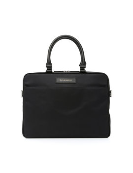 Haneda Leather Trimmed Nylon Computer Bag by Want Les Essentiels