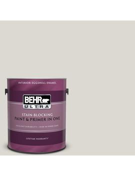 1 Gal. #790 C 2 Silver Drop Eggshell Enamel Interior Paint And Primer In One by Behr Ultra