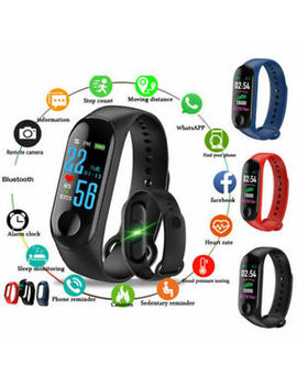 M3 Bluetooth Smart Watch Heart Rate &Amp; Blood Pressure Monitor Fitness Tracker Lot by Ebay Seller