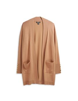 Camel Long Cardigan by Primark
