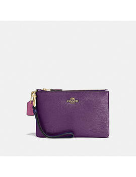 Small Wristlet In Colorblock by Coach