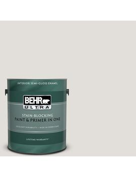 1 Gal. #Pwn 63 Abalone Shell Semi Gloss Enamel Interior Paint And Primer In One by Behr Ultra