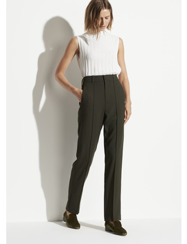 High Rise Tailored Pant by Vince