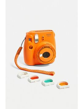 Fujifilm Uo Exclusive Instax™ Mini 9 Orange Clear Lens Instant Camera by Fujifilm