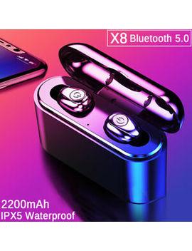 Bluetooth 5.0 Headset Tws Earbuds Wireless Sport In Ear Earphones Headphones by Ebay Seller
