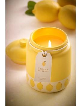 Lemon & Bergamot Ceramic Candle by Next