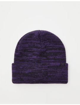 Flecked Knit Beanie by Pull & Bear