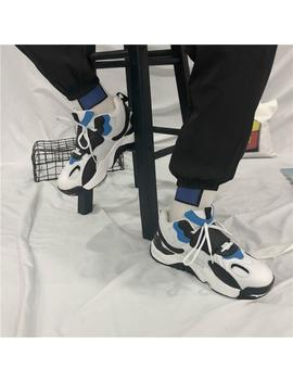 Ins Fashion Casual Dad Sneakers Men Autumn Light Breathable Mesh Leather Shoes Hip Hop Chaussure Femme by D Hgate.Com