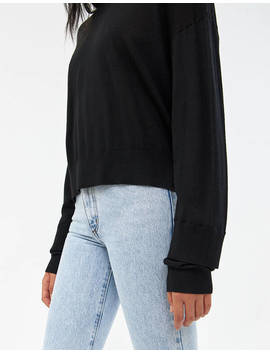Joey Double Cuff Sweater by Needneed