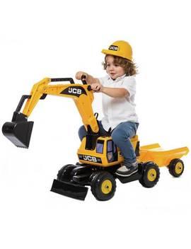 Jcb Excavator Trailer And Helmet Ride On723/7656 by Argos