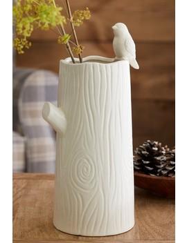 Tree Shaped Ceramic Vase by Next