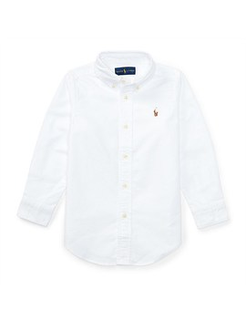 Solid Oxford Shirt (2 7 Years) by Polo Ralph Lauren