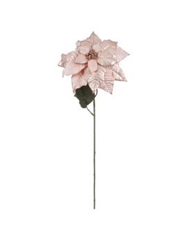 Metallic Rose Gold Poinsettia Stem By Ashland® by Ashland