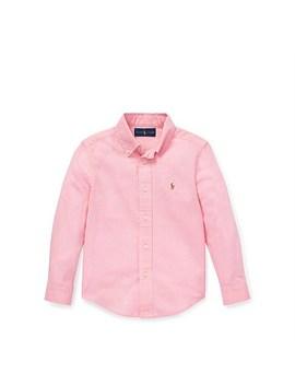 Slub Linen Cotton Shirt (2 4 Years) by Polo Ralph Lauren