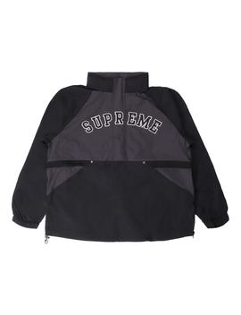 Supreme Court Half Zip Pullover Black by Stock X