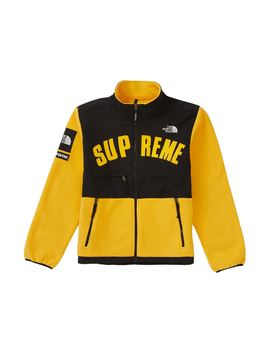 Supreme The North Face Arc Logo Denali Fleece Jacket Yellow by Stock X