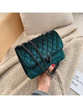 Solid Color Velvet Mini Crossbody Bags For Women 2019 Autumn Winter Luxury Brand Shoulder Messenger Bag Lady Travel Handbags by Ali Express.Com