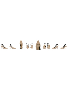 Women's Maria 90 Slingback Pumps by Burberry