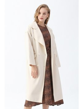 Double Breasted Wool Blend Belted Coat In Cream Satin Button Down Wrap Midi Dress In Dark Green Double Breasted Wool Blend Belted Coat In Brown Satin Button Down Wrap Midi Dress In Wine Double Breasted Wool Blend Belted Coat In Moss Green by Chicwish