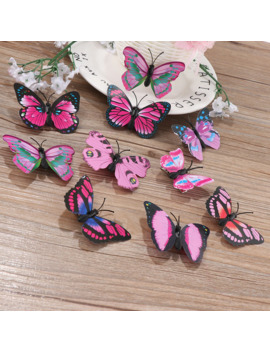 5 Pcs Butterfly Hair Clips Bridal Decor Wedding Hairdress Headwear Photography Costume Hair Styling Jewelry Accessories Tools by Ali Express.Com