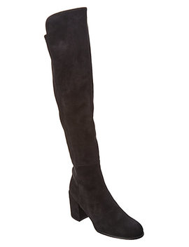 Stuart Weitzman Alljack Suede Over The Knee Boot by Stuart Weitzman