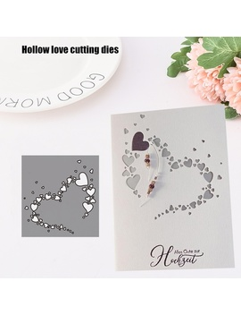 New Arrival Heart Metal Cutting Dies Stencils For Diy Scrapbooking/Photo Album Decorative Embossing Diy Paper Cards by Wish