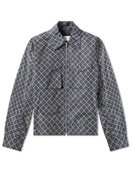 Maison Margiela 10 Check Nylon Zip Jacket by Maison Margiela