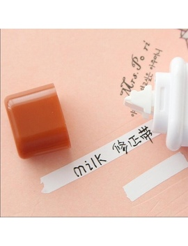 2 Pcs Cute Milk Correction Tape Material Stationery Office School Supplies [≪Xiehaiyi≫] by Wish