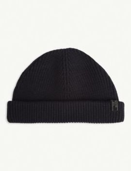 Tinyhat Cotton Blend Beanie Hat by Ted Baker